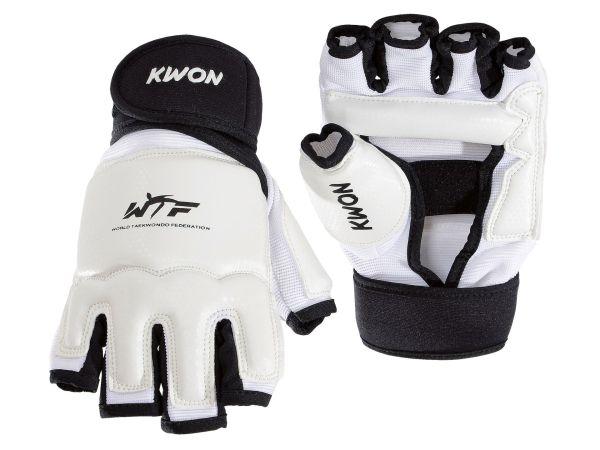 KWON TKD Handschützer Evolution WTF rec. weiß/schwarz
