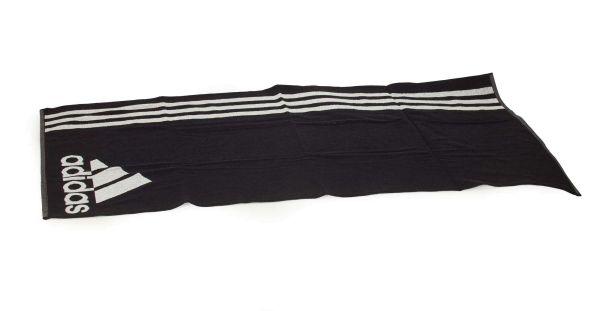 adidas Badetuch TOWEL L schwarz/weiß